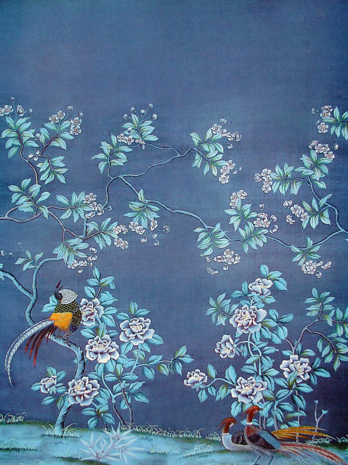 How Do They Do That Chinoiserie Wallpaper This Handcrafted Life